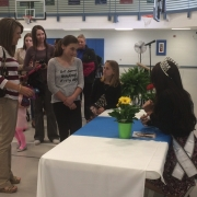 Miss Indiana visited the YMCA and spoke about Making Positive Decisions.