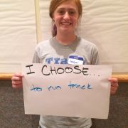 """I Choose"" at Batesville Middle School: National Prevention Week 2015"